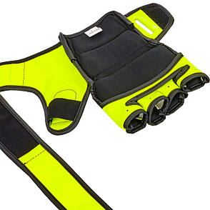 Перчатки для смешанных единоборств MMA PU VENUM BO-5699 S, Черный-белый, фото 2