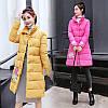 женская теплая куртка пальто с хлопковой подкладкой в стиле ретро 5 цветов