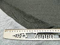 Ткань двунитка с шерстью петля однотонная с люрексом болотного цвета, фото 1