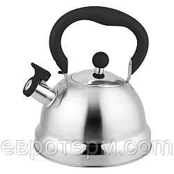 Чайник Con Brio CB-411 2,7 л, со свистком