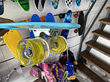 "Скейт Пенни борд. Penny Board 22 ""Pastel Series"", скейт детский, Бирюзовый цвет, фото 6"