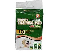 Пеленка HUSHPET, Puppy Training Pad 6-слойная, 60х90 см, 10 шт в уп