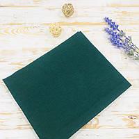 Пеленка детская хлопковая темно-зелёный Lukoshkino ® №91 Размер 80см*100см. ХП-342