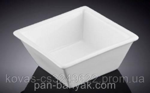 Емкость для закусок Wilmax  прямоугольная 15х4,5 см фарфор (992387 WL)