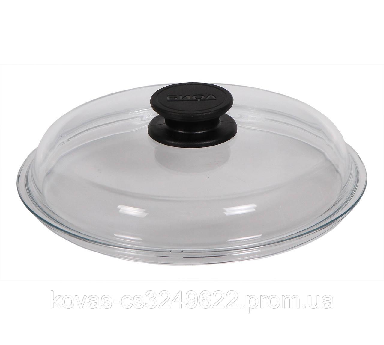 Крышка для блюд Биол Крышка d24 см стекло (ВК240)