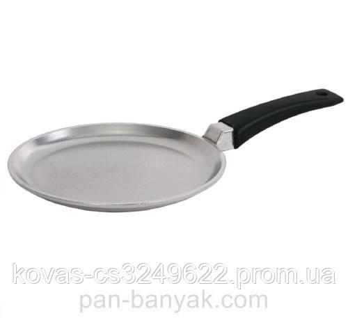 Сковорода блинная Биол  утолщенное дно d22 см h2 см литой алюминий (2208Б)