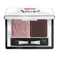 Pupa Vamp! Compact Duo Eyeshadow - Pupa Тени Пупа Вамп двойные, компактные (лучшая цена на оригинал в Украине) Вес: 2,2гр., Цвет: Pupa Vamp! Compact