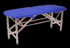 """Складной массажный стол """"Стандарт - Автомат"""" Эко-Кожа 185*60*75"""