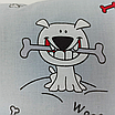 Наволочка, 30*30 см, (хлопок), (бульдоги на сером), фото 4