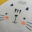 Наволочка, 30*30 см, (хлопок), (коты с молоком на бежевом), фото 2