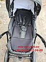 Детская коляска 2 в 1 Classik ( Классик) Victoria Gold эко кожа черный, фото 5