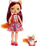 Лялька Enchantimals велика Лисичка Фелісіті