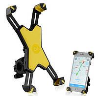 Крепление для Телефона на Велосипед PH-666 ROCKBROS желтый