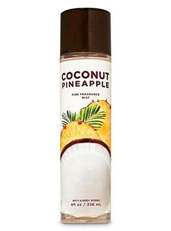 Мист для тела и волос Coconut pineapple Bath and Body Works