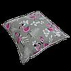 Подушка, 40*40 см, (хлопок), (свадьба фламинго на сером), фото 2