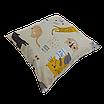 Подушка, 30*30 см, (хлопок), (коты с молоком на бежевом), фото 2