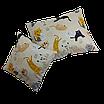 Подушка, 30*30 см, (хлопок), (коты с молоком на бежевом), фото 6