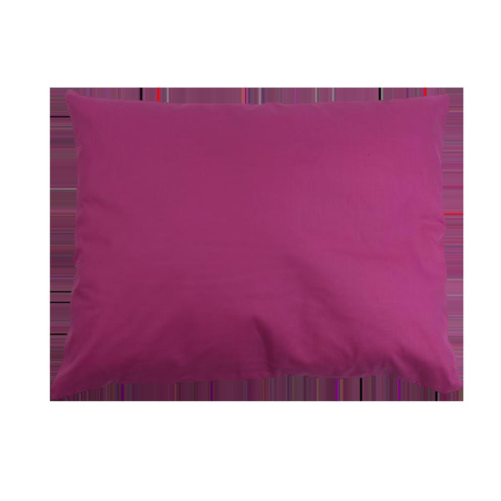 Подушка, 45*35 см, (хлопок), (малиновый)