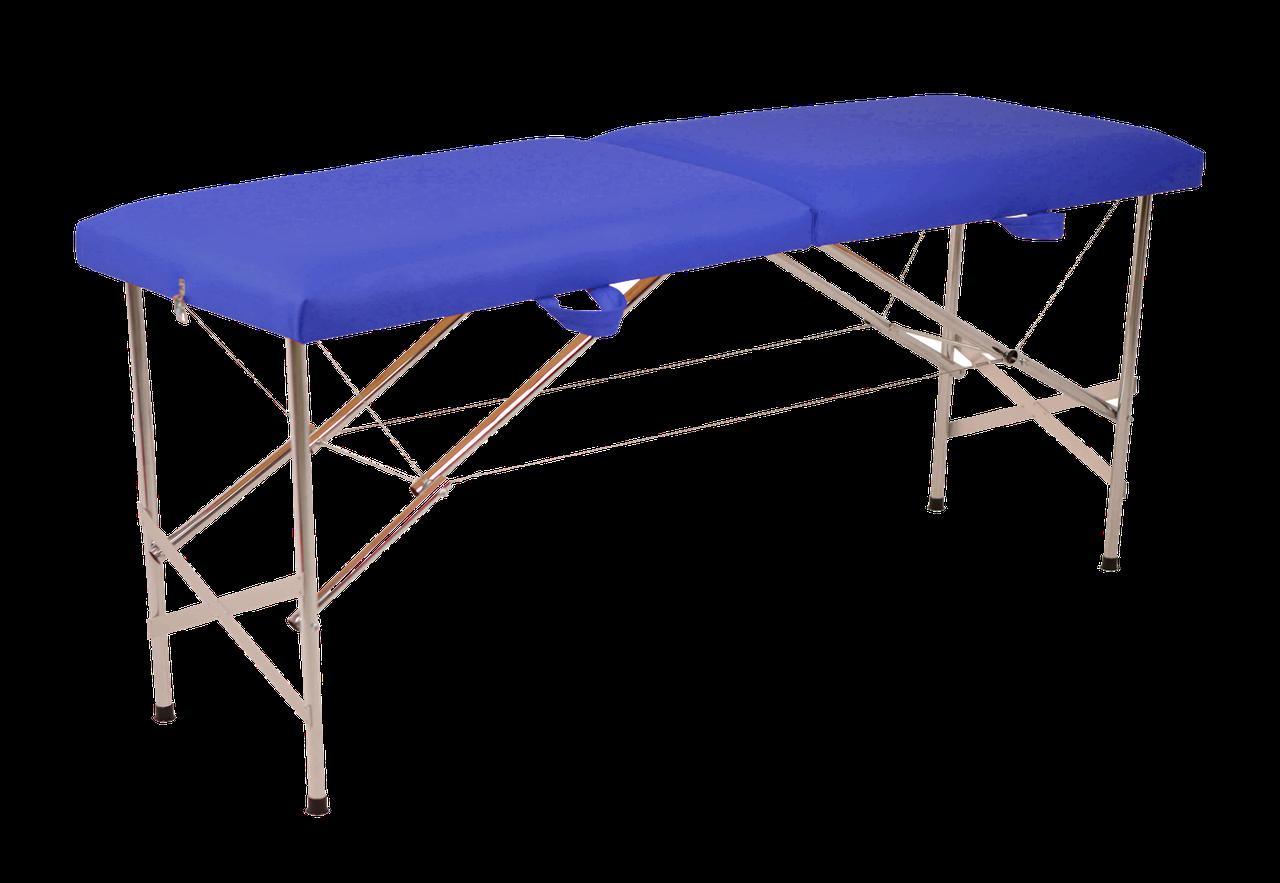 """Складаний масажний стіл """"Автомат Еко-Шкіра"""" 185*60*75см Косметологічний """"Економ"""""""