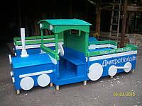 Беседки и машинки для детской площадки