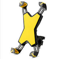 Держатель для Телефона на Велосипед PH-666 ROCKBROS красный желтый