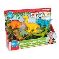 Игровой набор - Динозаврики  Kiddieland, фото 1