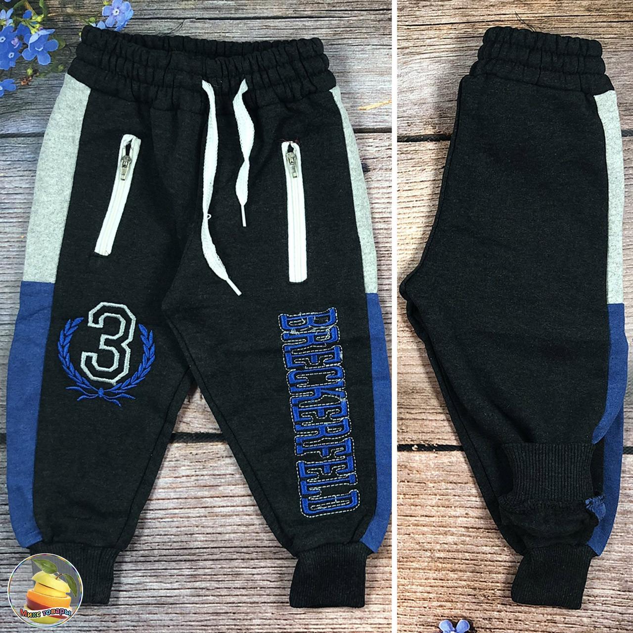 Штани з начосом для хлопчика Розміри: 1,2,3,4 року (20786-2)