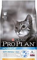 Корм Purina ProPlan Housecat с курицей, для живущих в доме, 1,5кг