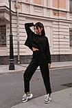 Стильный женский костюм. Цвет: чёрный, пудра, бежевый, фото 5