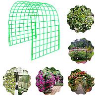 Композитная сетка садовая 100*100*3 мм 1,0 м, рулон 50 м2. Сертификат качества.Срок службы 80 лет