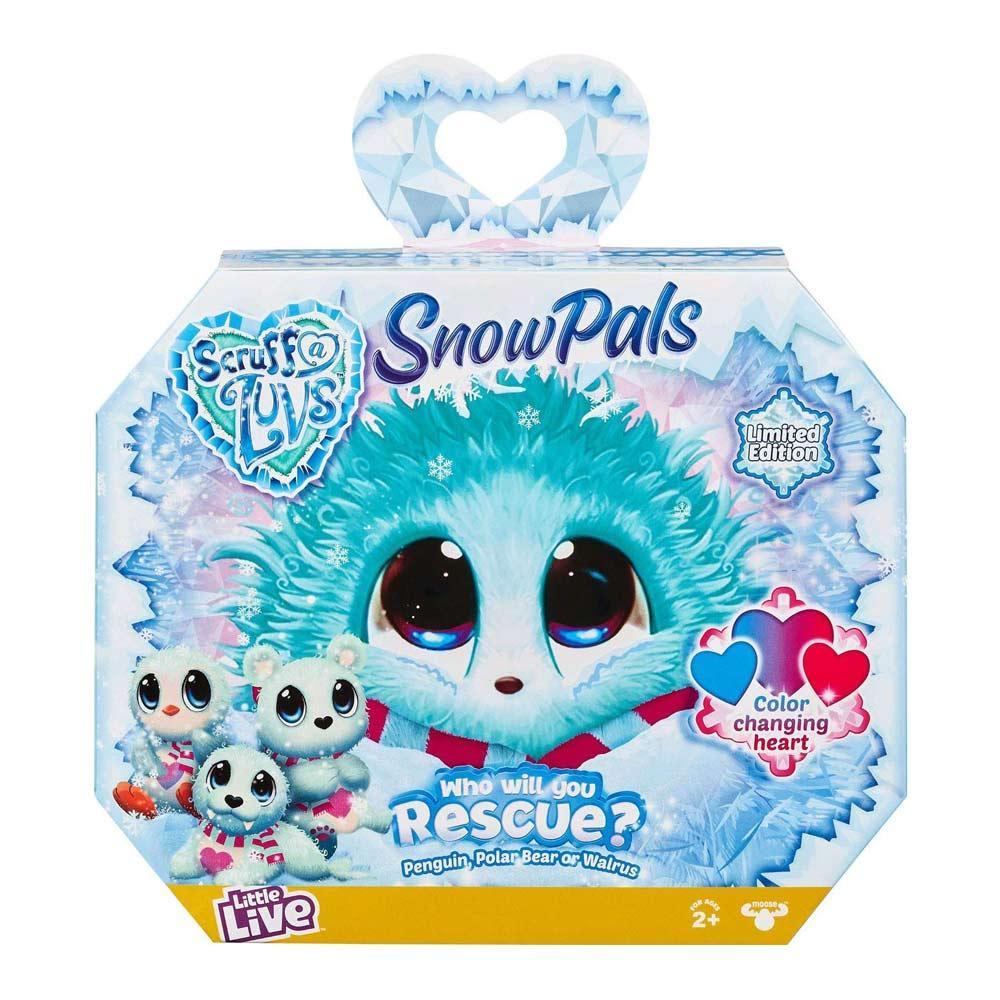М'яка іграшка-сюрприз Scruff a Luvs «Північні тварини» Пухнастик-блукаюча зурка-4 сніговий, sv-029