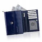 Шкіряний гаманець BETLEWSKI з RFID 13.5 х 10.5 х 4 (BPD-SB-11) - синій, фото 9