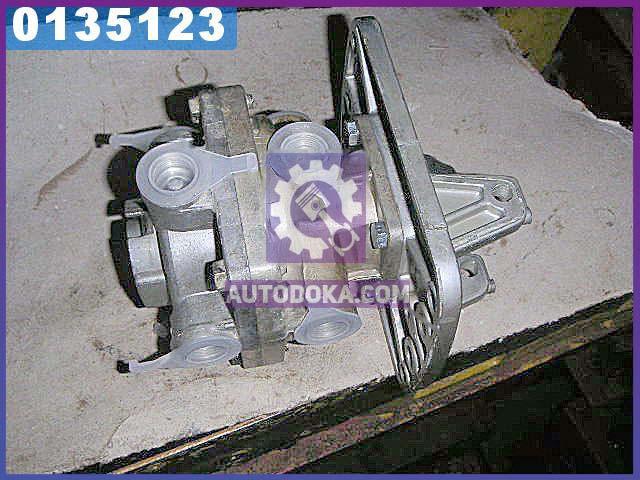 Кран гальмівний 2-секційний подпедальный (виробництво р. Рославль) 100.3514108-10