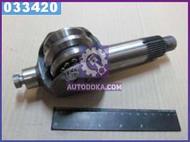 Вал сошки рулевого управления ГАЗ 3307, 53 с роликом (производство  ГАЗ)  53А-3401060
