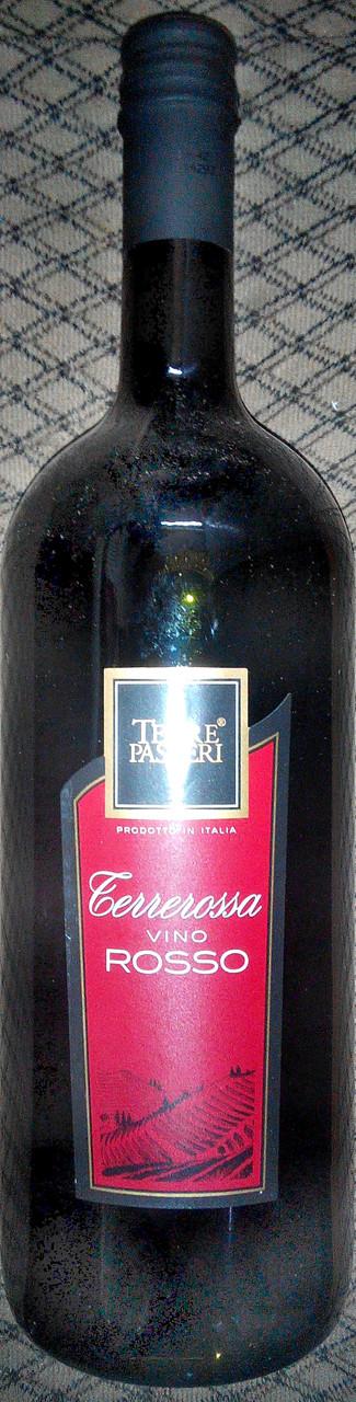 Итальянское красное сухое вино 1,5 л. 10,5%