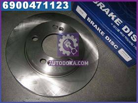 Диск гальмівний передній САНГЙОНГ KYRON, ACTYON (виробництво VALEO PHC) R4008