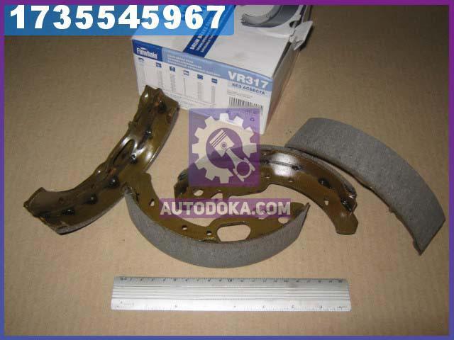 Колодки тормозные ВАЗ 1117-1119 КАЛИНА, 2170-2172 ПРИОРА задние ABS (комплект 4шт.) (производство  FINWHALE)  VR317