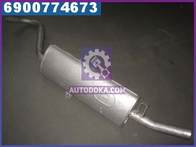 Глушитель задний ВАЗ 2102 (производство  Polmostrow)  11.15