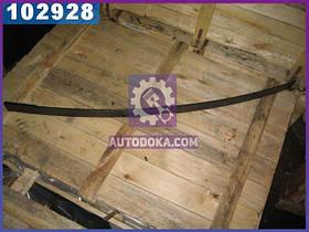 Лист рессоры №1 задний ЗИЛ 130 1600 мм с накладкой (производство  Чусовая)  130Д-2912100-В