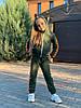 Спортивный костюм хаки для девочки
