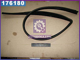 Уплотнитель стекла опускного ВАЗ 2109 передний левый (производство  БРТ)  2109-6103293Р