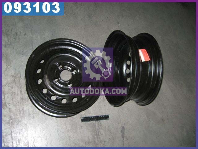 Диск колесный 13х5, 0 4x100 Et 49 DIA 56, 56 ДЕО черный (производство  КрКЗ)  Т1301-3101015.27