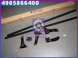 Багажник на дах, універсальний , сталевий, 122см., ВАЗ08-09, Таврія<ДК> CP-777-48
