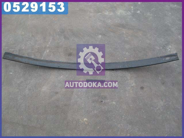 Лист рессоры №2 передний , задний ГАЗ 3302 (75х11-1525) (усилен.) без ушка (производство  Чусовая)  3302-2902102