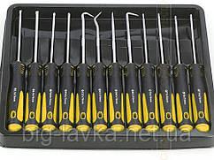 Набор из демонтажных крючков для снятия сальников и уплотнительных колец Veconor 12 шт