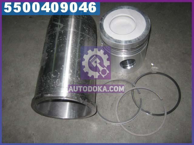 Гильзо-комплект Д-245Е2, Д-260Е2 (смещеная камера) (Д=38) (ГП+кольца) Поршень Комплект (производство  мм З)  260-1004045-Ж-07