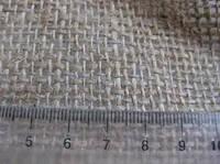 Мешковина джутовая, плотность 200, 250, 400 г/м.кв