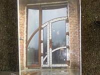 Двері металопластикові вхідні офісні