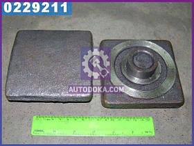 Вкладыш кронштейна рессоры передней /задний МАЗ (производство  Беларусь)  504Н-2902449