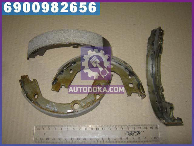 Колодки тормозные барабанные КИA (производство  PARTS-MALL)  PLB-038